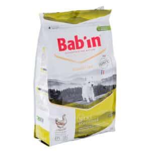 1 paquet de 3 kg de croquettes chien stérilisé/ BAB'IN Mini Stérilised