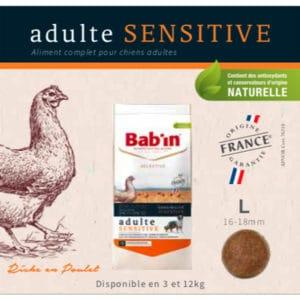 Adulte Sensitive Riche en Poulet