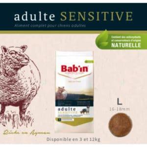 Adulte Sensitive Riche en Agneau