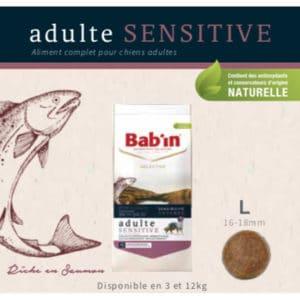 Adulte Sensitive Riche en Saumon