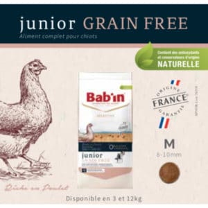 Croquettes Junior Grain Free