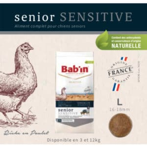 Senior Sensitive Riche en Poulet