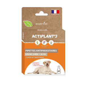 pipettes insectifuges chien + 30 kg