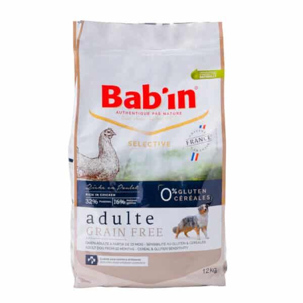 Croquettes françaises pour chien adulte, maintien, entretien, premium, volaille, sans céréales, chondroïtine, glucosamine, soutien des articulations