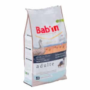 1 paquet de 12 kg de croquettes chien BAB'IN LIGHT