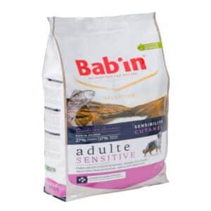 1 paquet de 12 kg de croquettes chien BAB'IN au Saumon