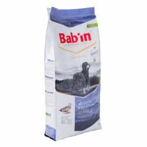 1 paquet de 15kg de croquettes pour chien BAB'IN SENIOR